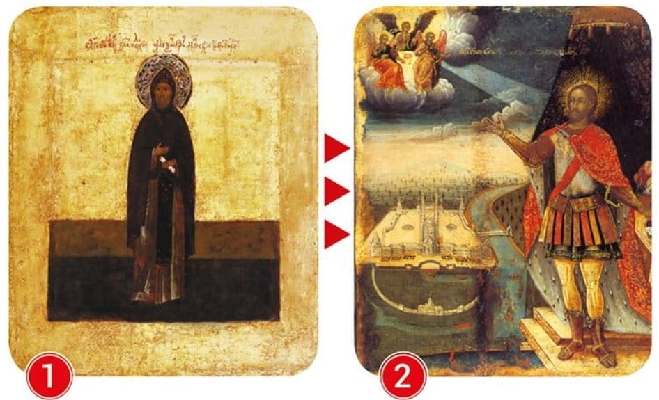 Древняя икона Александра Невского: почему воин изображен монахом?